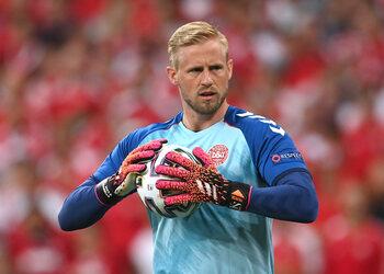 Sur les traces de son père Peter, Kasper Schmeichel est prêt à l'exploit contre l'Angleterre