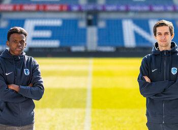 Abdullah Waiss en Gilles Bernard tekenen contract bij KRC Genk