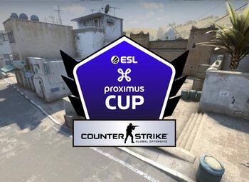 Speeldag 2 van de ESL Proximus Cup op CSGO