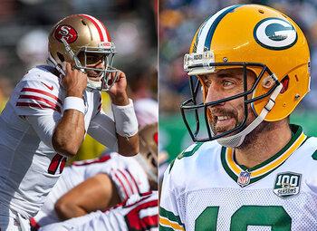 Verliezen is uit de boze als 49ers en Packers elkaar deze week treffen in de NFL