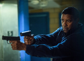 Denzel Washington en Pedro Pascal over 'The Equalizer 2'!