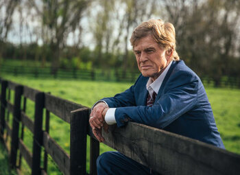 Robert Redford over 'The Old Man and the Gun'!