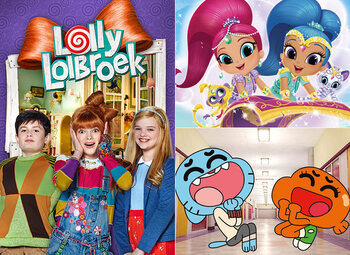 All Kids presenteert … de zotste avonturen met Gumball, Lolly Lolbroek en Shimmer & Shine