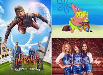 All Kids presenteert … massa's plezier met K3, Spongebob en Dr. Proctors Schetenpoeder!