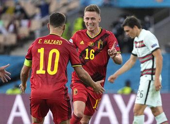 Les frères Hazard ont sorti le grand jeu contre le Portugal