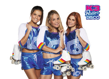K3 Roller Disco in de Studio 100 GO Pass