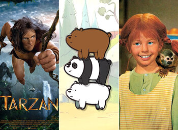 All Kids presenteert … Pippi Langkous, Tarzan én een leuke weekendspecial!