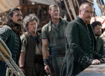 Het vierde en laatste seizoen van 'Black Sails' op History vanaf 15 december