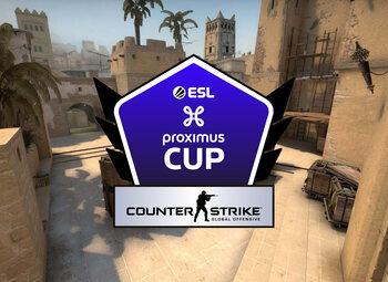 Journée 1 de l'ESL Proximus Cup sur CS:GO