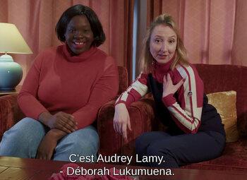 """L'interview """"contraire"""" d'Audrey Lamy et Déborah Lukumuena"""