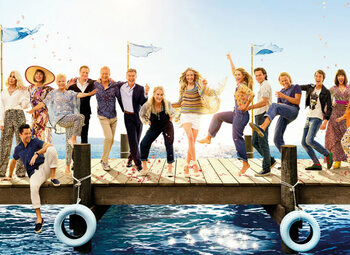 "Regardez le making of du film ""Mamma Mia! Here We Go Again"""