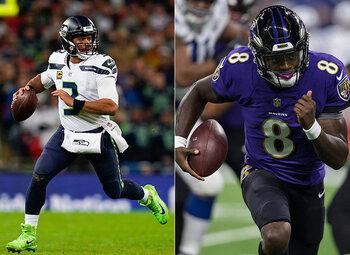 Seahawks – Ravens: twee ploegen in de race naar de play-offs in de NFL