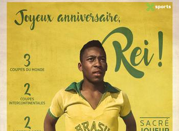 Le plus beau but de Pelé n'a jamais été filmé mais…