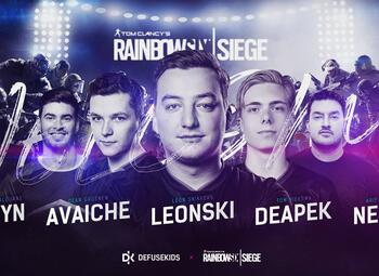 Rainbow Six Benelux League: Defusekids staat op kop