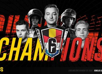 Rainbow 6 : LowLandLions remporte la Benelux League