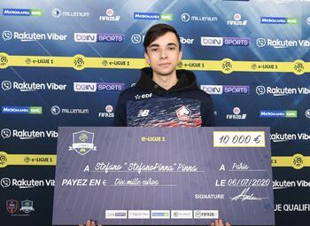 Un Belge champion de France de l'Orange e-LIGUE 1 sur PS4