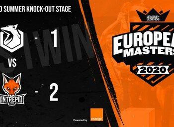 European Masters LoL : Sector One échoue de nouveau aux portes du Main Event