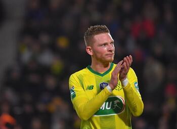 Renaud Emond redt een punt voor Nantes