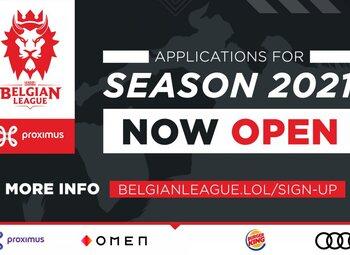 Belgian League : Les inscriptions sont ouvertes