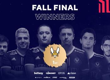Le Belge Nivera et Vitality s'emparent du titre lors des Blast Fall Finals