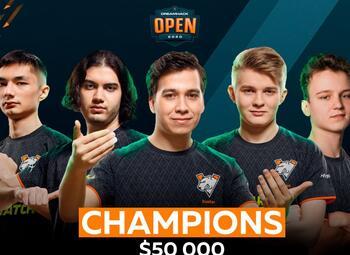 Virtus.pro remporte la Dreamhack Open December 2020