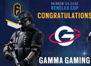 R6S Benelux Cup : Gamma Gaming pakt de titel en wint €4000