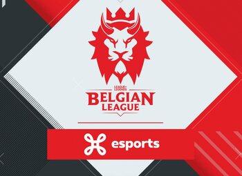 Belgian League: ION SQUAD en KVM Esports bevestigen dominantie