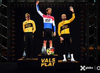Wielerpodcast 'Vals Plat' te zien op Proximus Pickx!
