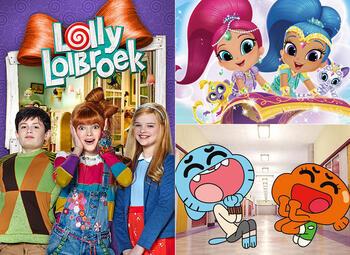 All Kids presenteert … de zotste avonturen met Gumball, Lolly Lolbroek en Shimmer & Shine