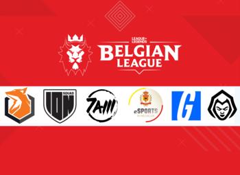 De definitieve teams voor de Belgian League