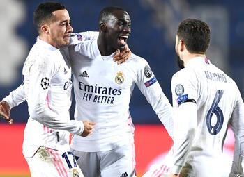 Real Madrid kan opgelucht ademhalen tegen Atalanta Bergamo dankzij Ferland Mendy