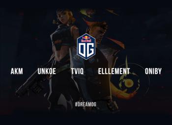 OG annonce son futur roster sur Valorant