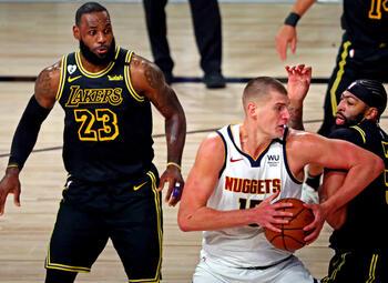 De Lakers trekken aan het langste eind tegen Denver