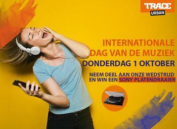 Beleef de Internationale Muziekdag op de klanken van Trace Urban!