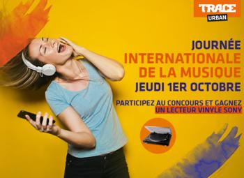 Vivez la journée internationale de la musique aux sons de Trace Urban!