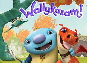 Leuk voor de kleintjes: de avonturen van Wallykazam!