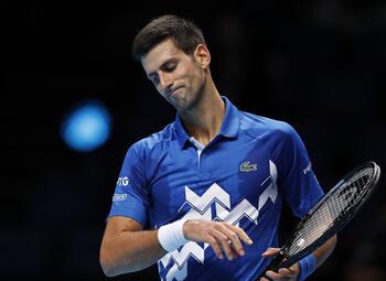Djokovic en Nadal met de rug tegen de muur op de ATP Finals