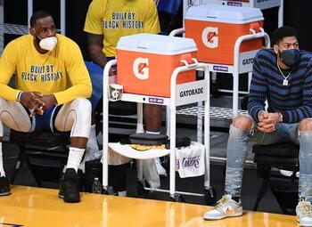 NBA-titelverdediger Los Angeles Lakers in vormdip na vier nederlagen op een rij