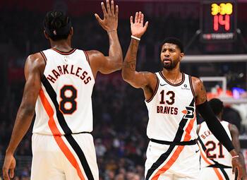 De LA Lakers en de LA Clippers live aan het werk deze week