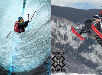 Spectaculaires sports d'hiver sur Extreme Sports Channel en février