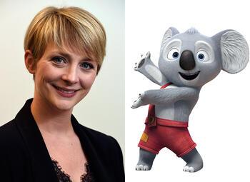 Fanny Jandrain prêtera sa voix à Blinky Bill dans le prochain film de Studio 100 TV