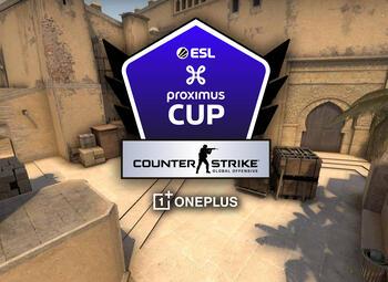 Speeldag 3 van de ESL Proximus Cup op CSGO