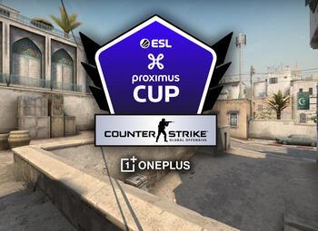 Journée 2 de l'ESL Proximus Cup sur CS:GO