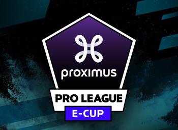 Proximus en de Pro League lanceren de Proximus Pro League e-cup op FIFA 20