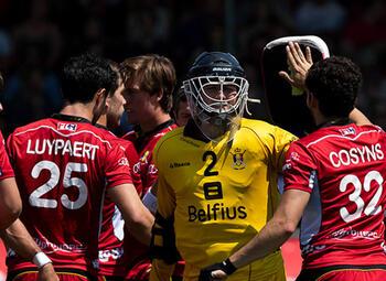 Regardez en direct les championnats d'Europe de hockey sur Proximus Pickx via Eleven Sports