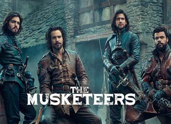 The Musketeers zijn er in augustus weer klaar voor op BBC Entertainment