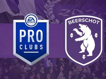 Beerschot onthult zijn Pro Clubs-team