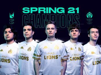 MAD Lions kroont zich tot Spring Split-kampioen in het LEC