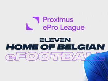 Het seizoen 2020-2021 van de Proximus ePro League is afgetrapt !