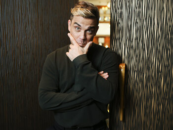 Robbie Williams: derde kind is prima te doen